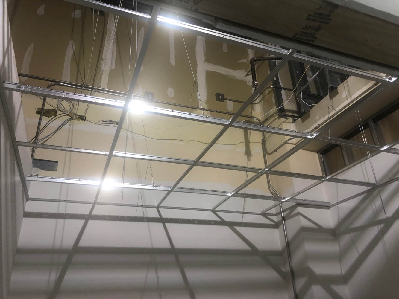 Roof Panel Installation