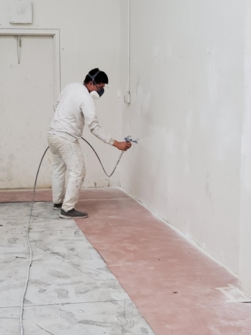 Building Painting Interior