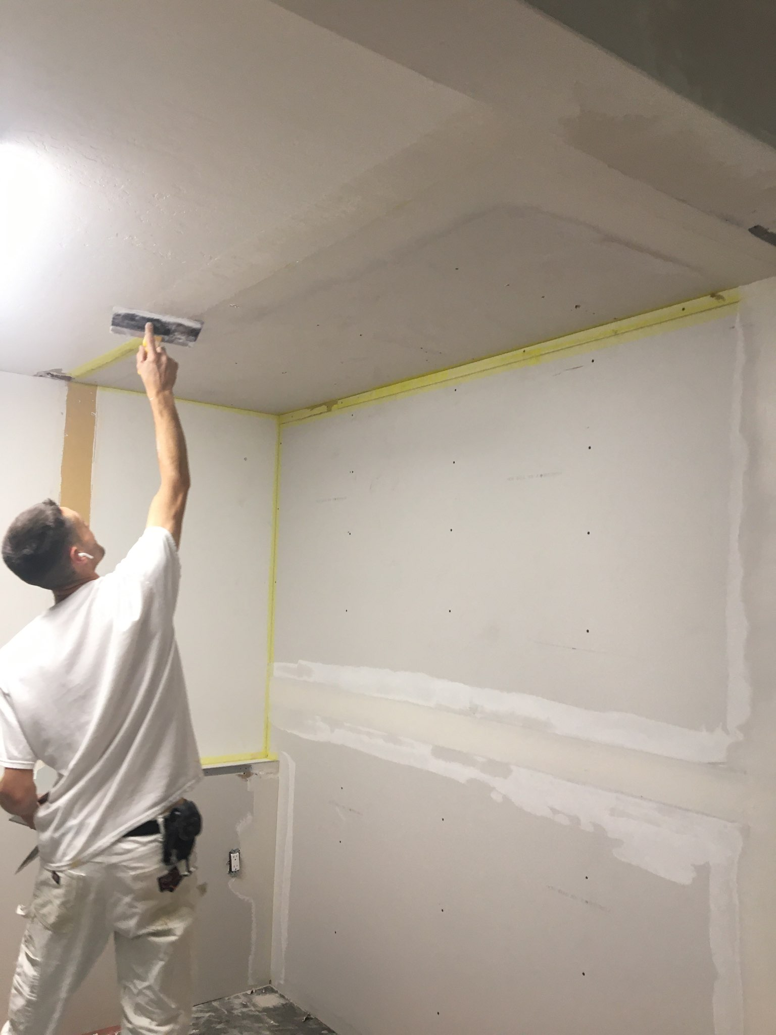Painting Building Roof