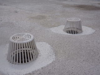Roof Drains After Photo