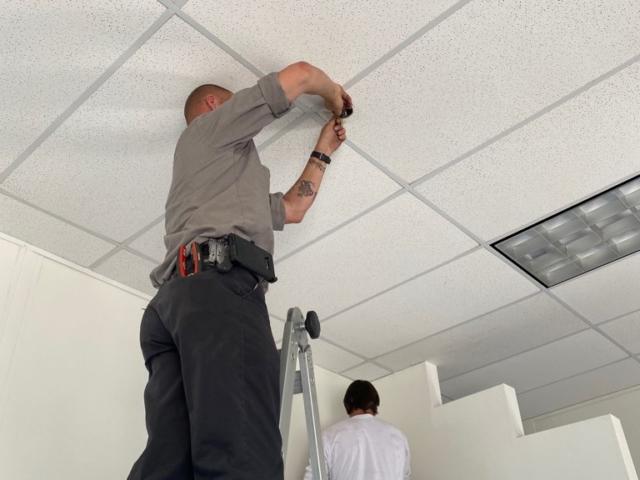 Ceiling Tile Repair